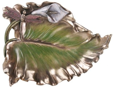 Art Deco - Art Nouveau Calla Lily Dish - Mandarava Gifts for the Spirit