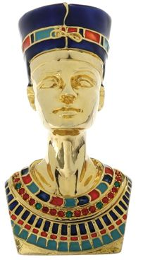 Ancient Egyptian Queen Nefertiti Jewelry Box Mandarava Gifts for