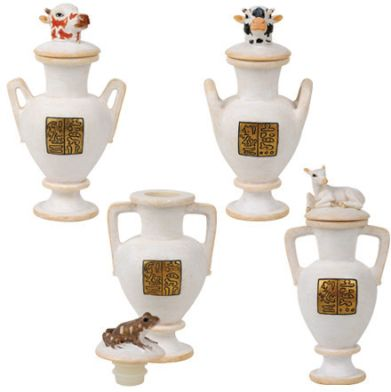 Ancient Egyptian Vases For Yuya Set Of 4 Mandarava Gifts For The