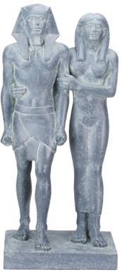 menkaure and his queen statue