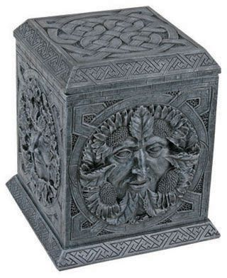 Gothic Gargoyles Four Season Celtic Jewelry Box Mandarava Gifts