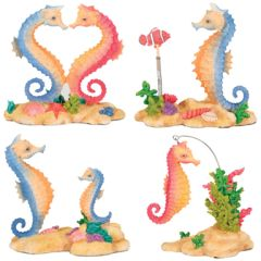 Sea Horses (set Of 4)