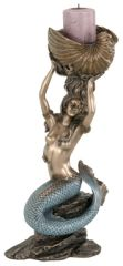 Art Nouveau - Mermaid Candleholder