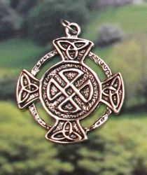 Celtic Wealth Pendant Available on Display Card