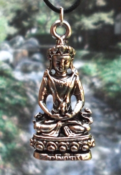 Avalokiteswara Pendant Available on Display Card