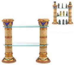 Egyptian Column Display Shelves