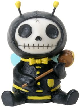 Furry Bones Buzz Bumble Bee Statue