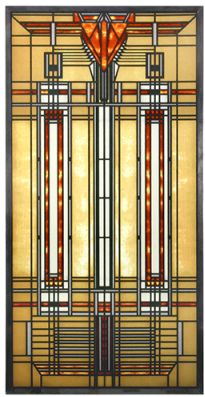 Frank Lloyd Wright - Bradley House Skylight