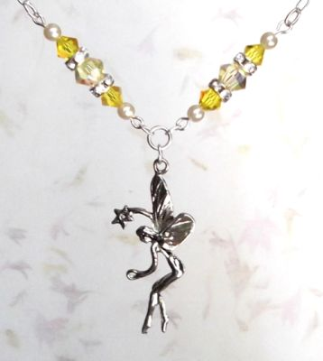 Jonquil Wish Fairy Necklace
