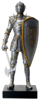 Medieval Knight Statues - Large Royal Knight