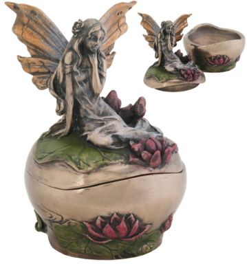 Art Nouveau - Art Deco Fairy Michelle Jewelry Box