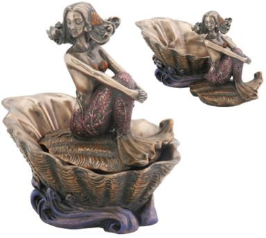 Art Nouveau - Art Deco Mermaid Layla Jewelry Box