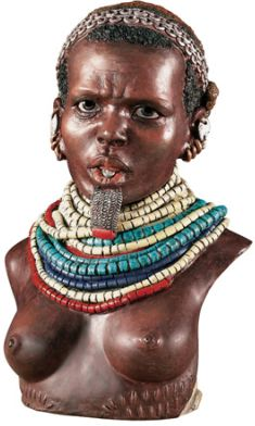 Bumi Woman - African Figurine Statue