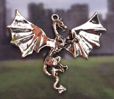 Celtic Eiziban Dragon Jewelry Pendant