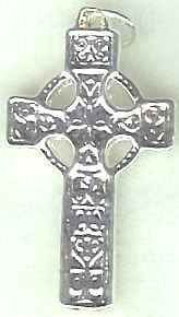 Celtic Flanns Cross Jewelry Pendant