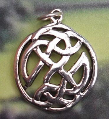 Celtic Happiness Knot Jewelry Pendant