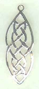 Celtic Knot Two Lives Entwined Jewelry Pendant