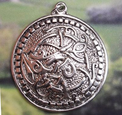 Celtic Protection Medallion Jewelry Pendant
