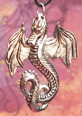 Celtic Royal Dragon Jewelry Pendant