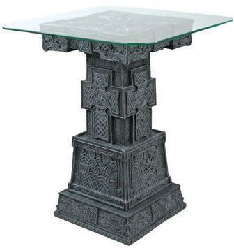 celtic statues celtic tableceltic home decor end table ...