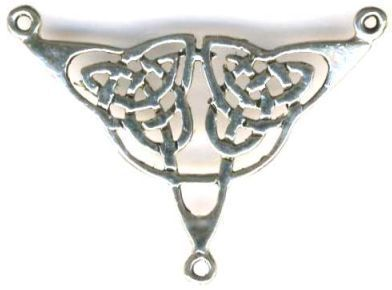 Celtic Triad Centerpiece Celtic Jewelry Pendant