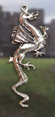Celtic Xerephon Dragon Jewelry Pendant