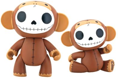 Furry Bones Choco Munky Monkey Vinyl Toy