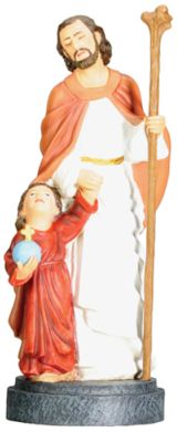 Christian Statues Joseph And Jesus Statue