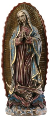 Our Lady Of Guadalupe Statue - Bronze Finish