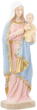 Christian Statues Porcelain Mary And Jesus Statue