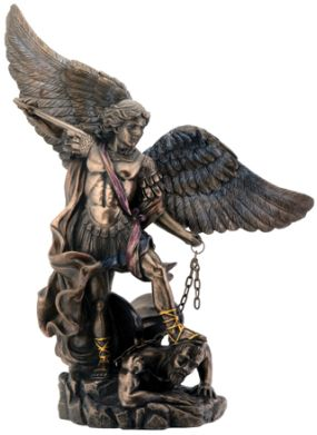 Christian Statues - Small St. Michael Statue