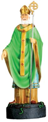 Christian Statues St. Patrick Statue