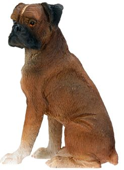 Dog Breed Statues - Boxer - Small