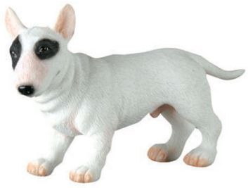 Dog Breed Statues - Bull Terrier Puppy