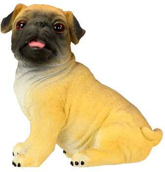 Dog Breed Statues - Pug Puppy