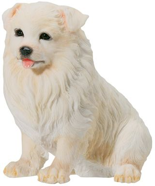 Dog Breed Statues - Samoyed Puppy