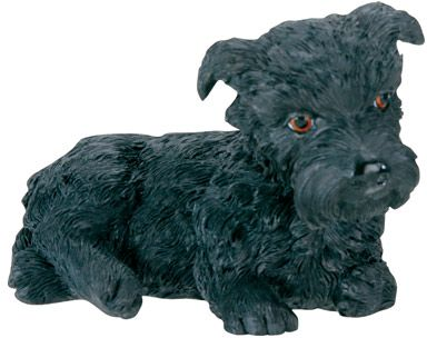 Dog Breed Statues - Scottish Terrier Puppy