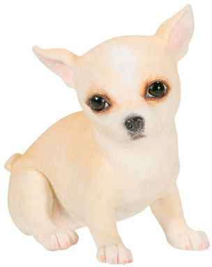 Dog Breed Statues - Tan Chihuahua Puppy