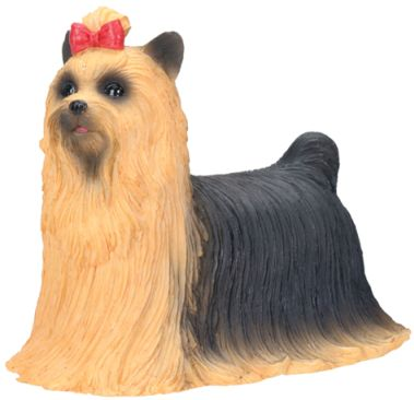 Dog Breed Statues - Yorkshire Terrier Statue