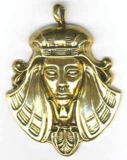 Extra Large Egyptian Pharaoh Pendant