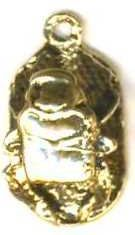 Medium 3-d Egyptian Scarab Pendant
