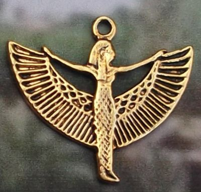 Medium Spread-winged Isis Pendant