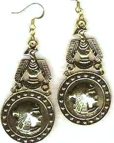 Royal Egyptian Queen Cleopatra Earrings