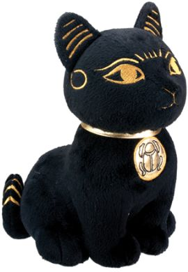 Ancient Egyptian Bastet Plush Statue Toy