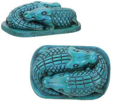 Ancient Egyptian Crocodiles Statue