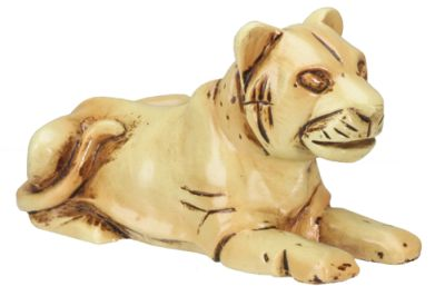Ancient Egyptian Faience Tiger Statue