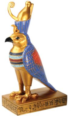 Ancient Egyptian Horus Falcon Statue