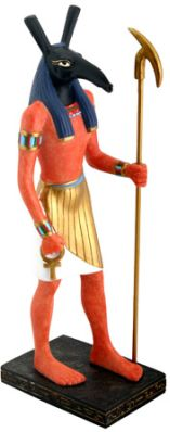 Ancient Egyptian Seth, Lord Of Chaos,  Statue