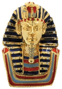 Ancient Egyptian King Tut Jeweled Box