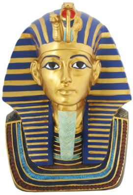Ancient Egyptian King Tut Mask Statue